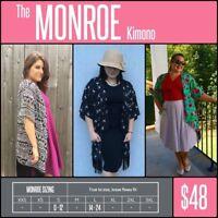 Lularoe Monroe Kimono ***NWT***Pick Your Pattern***Sizes Small & Large***