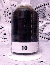 4 NEW Black GUTERMANN miniking 100% polyester thread 1094 yard Spools