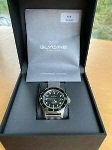 Glycine combat green mens automatic GL0091