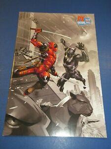 Black Panther vs Deadpool #1 Virgin Variant VFNM beauty