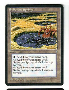 Sulfurous Springs NM/VG Ice Age MTG Magic the Gathering