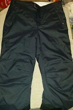 Girls Xl 18 REI black ski / hiking insulated pants