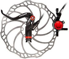 NEW Magura MT8 Carbotecture Carbon Disc Brakes FL/RR Brake Set w/Storm SL Rotors