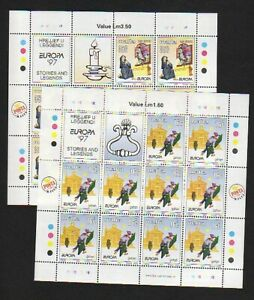 EUROPA CEPT Malta 1997 Kleinbögen/minisheets postfrisch/** (MNH)