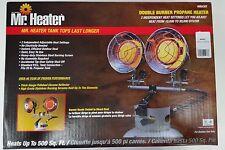 Mr Heater F242650 (MH30T) Double Burner Tank Top Heater, 10k - 30k BTU's