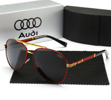 2019 Audi Brand Men's Sunglasses Polarized Classic UV400 Men Eyewear+ brand box