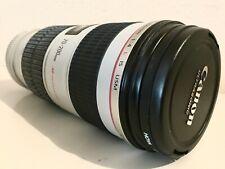 CANON EF 70-200 mm F/4L IS USM OBJETIVO + FILTRO HOYA.TELEOBJETIVO ULTRASONIC