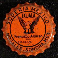 SODERIA MEXICO •EAGLE•UNUSED CORK LINED SODA BOTTLE CAP CROWNS NOGALES, SONORA+