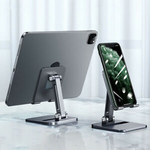 Tablet Stands For iPad Pro Case Adjustable Foldable Height Angle Phone Holder