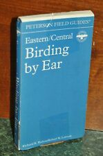 Peterson Field Guides Birding by Ear Eastern & Central 3 Audio Cassette Set