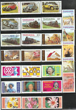 Tanzania : Excellent Lot of Older Mint Issues! Don't Miss!