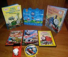 Thomas the Train Movies Books Toys Lunchbox Lot of 8 b3