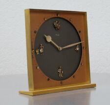 seltene Kienzle 8 Tage Messing Design Tischuhr Handaufzug 15 Steine 30er Jahre
