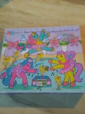 vintage g1 my little pony puzzle 1990 complete