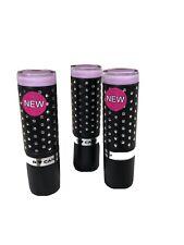 Hard Candy Fierce Effects Chalkin' Pink 1046 Lipstick. Lot Of 3 New.
