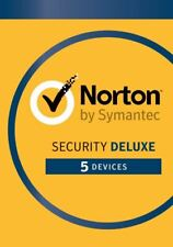 Norton Security Deluxe 2021 5 PCs / 5 Device 3 Years / 36 months Emailed EU & UK