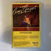 Amy Grant Never Alone (Cassette)