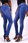 Pepe Jeans Pixie Bleu moyen D58 Skinny Coupe JEGGINGS NEUF - W24 W25 W29