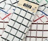 Pack upto 12 Terry 100% Cotton Tea Towels Set Kitchen Dish Cloth Cleaning Drying