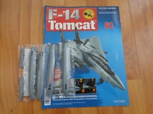 1/32 HACHETTE BUILD THE F-14 TOMCAT MODEL PLANE ISSUE 61 INC PART PICTURED