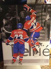 Alex Galchenyuk & brendan Gallagher 16x20 Montreal Canadiens NHL Canvas Print