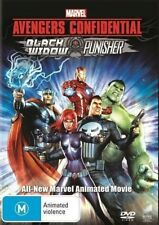 Marvel Avengers Confidential Black Widow Punisher DVD Brand New Animated Movie