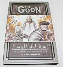THE GOON FANCY PANTS EDITION VOL 2 COMIC BOOK SIGNED AND SKETCH ERIC POWELL Comic Art