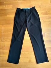 Izod Boys pants Size 18 reg black worn a few time Combined Shipping Available