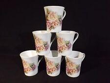 Kaffeebecher Porzellan 6tlg Set Pastellrose Kaffeetassen Kaffee 0,3 L Becher NEU