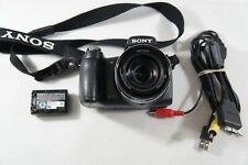 Sony Cyber-shot DSC-HX1 9.1MP Digital Camera - Black -Read Description