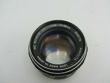 Minolta MC Rokkor - PF F1.4 58mm MD Mount Prime Lens For SLR/Mirrorless Cameras