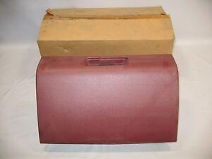 New OEM 1988-1995 Isuzu Pickup Glove Box Front Dash Storage  Red Maroon