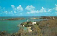 Ely's Harbor Somerset Bermuda Vintage Postcard B12