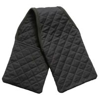 EquiRoyal Quilted Cotton Stirrup Iron Cover for English Stirrups Black