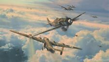 Savage Skies by Robert Taylor featuring JG54 Luftwaffe Aces - ten signatures