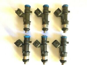 Bosch Fuel Injector Set 0280158028 NEW X 6 fits 24V Mopar 2.7L 3.5L 2005-2010