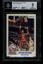 1984 Star JULIUS ERING 76ers All Star Game #4 BGS 8 (433)