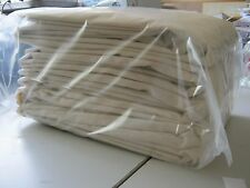 5 NATURAL COTTON CALICO  FABRIC  Mattress covers 2mtrs x 1.8mtr each of calico