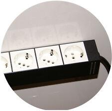 * 1 Orig. USM Haller magnetische Steckdosenleiste Steckdose 4 Mehrfachstecker *