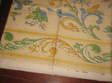 "Quadri/Tela/Stoffa/Tessuto "" ROMANEX DE BOUSSAC "" Made In France/cm.100x140"