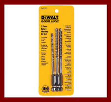 Dewalt DW2571 Masonry Carbide Drill Bit Set for Impact Driver AU Seller Tax Inv