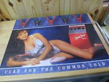 Snap-On Tools Poster Pin-Up Lingerie Model Girl Battery Charger 1989