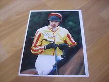 Russell GARRITTY Horse Racing NH JOCKEY 7/12/95 Original Hand SIGNED Press Photo