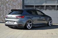 Heckansatz Heckdiffuser (Seitenteile) aus ABS für Seat Leon 3, 5F Cupra / R