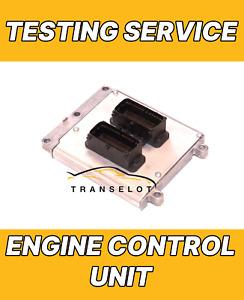 ECU ENGINE CONTROL UNIT TESTING SERVICE REPAIR SERVICE - PLEASE READ DESCRIPTION