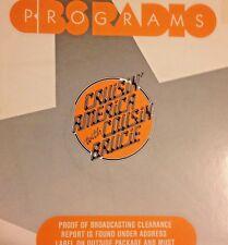 RADIO SHOW: COUSIN BRUCIE 1/20/89 NEIL DIAMOND FEATURE; BOB DYLAN, JUDY COLLINS