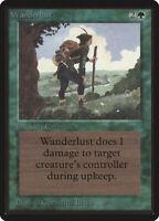 Wanderlust - BETA Edition  - Old School - MTG Magic The Gathering