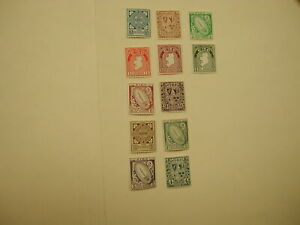 Ireland Stamp #65-76 NH CPL Set