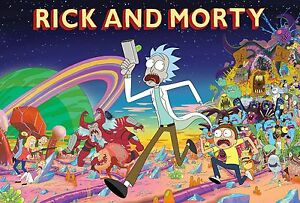 Rick And Morty TV Animation RAM01 A3 POSTER ART PRINT BUY 2 GET 3RD FREE