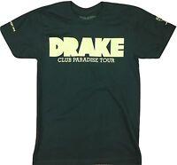 Drake Club Paradise T-Shirt Men's Black Rap Artist Music New Rare Small Tee New